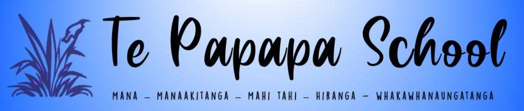 Te Papapa School Logo